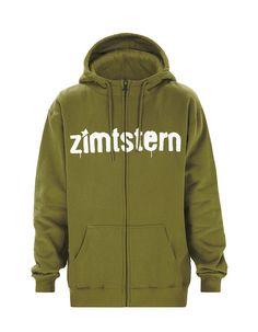 SPRAY LOGO | Men's Zip Hoodie | Fall / Winter Collection 2012 / 2013 | www.zimtstern.com | #zimtstern #fall #winter #collection #mens #zip #zipper #hoodie #hood #sweatshirt #street #wear #streetwear #clothing #apparel #fabric #textile #snow #skate
