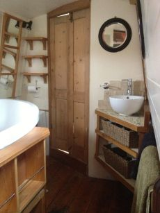 Boat bathrooms on pinterest narrowboat used boats and small bathroom storage Small yacht bathroom design