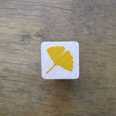 Ginkgo Stamp Mini Ginkgo Leaf / Ginko Rubber Stamp on Etsy, $3.94 AUD