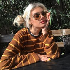 Kelsey Calemine is my new girl crush Mode Hipster, Hipster Stil, Style Hipster, Hipster Fashion, Look Fashion, 90s Fashion, Fashion Clothes, Modern Grunge Fashion, Fashion Trends