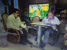 Fidel Castro se reúne con Maduro la víspera de la llegada de Obama a Cuba