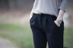 Alexandria Peg Trousers by Named