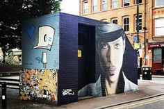 How acclaimed Manchester street artist is changing the face of the city - I Love Manchester I Love Manchester, Manchester Street, Manchester City Centre, Marlborough House, Wellington House, War Film, House Viewing, Cult Following, Small Boy