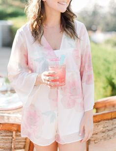 Spice Up Your Life: Totally Rad Bachelorette Pool Party Honeymoon Attire, Honeymoon Style, European Honeymoons, Green Wedding Shoes, Spice Things Up, Traveling By Yourself, Ruffle Blouse, Rompers, Celebrities