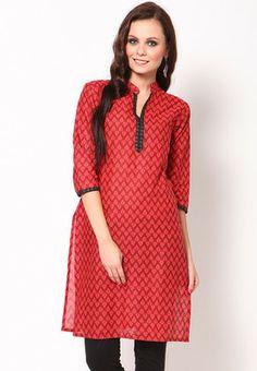 kurtas for women | Shree Maroon Kurti - Buy Women Kurtas & Kurtis Online ...