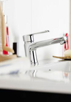 Hafa Sun badrumsmöbler detalj Sink, Home Decor, Room Decor, Sink Tops, Sinks, Home Interior Design, Countertop, Wash Stand, Home Decoration