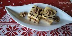 Linecké rezy so žĺtkovou polevou (fotorecept) - recept | Varecha.sk Christmas Goodies, Christmas Baking, Waffles, Pudding, Breakfast, Basket, Morning Coffee, Custard Pudding, Waffle