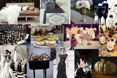 Vintage Halloween Wedding Inspiration