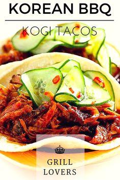 Grill Lovers' Amazing Korean BBQ: Kogi Tacos Recipe   #foodporn #foodie #recipes…