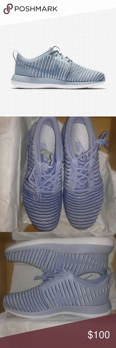 Women's Nike Roshe 2 Flyknit Nike Roshe 2 flyknit 2 Brand new in box Never worn Excellent condition Very clean color way Premium shoe for a premium woman Comfort and style reaches its pinnacle Nike Shoes Athletic Shoes