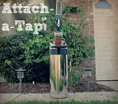 Serve homebrew directly out of your homebrew keg (or craft beer out of a 1/6 barrel keg) with Attach-a-Tap. Perfect for stylishly serving kegs of craft or homebrew beer parties, tailgates, and BBQs.