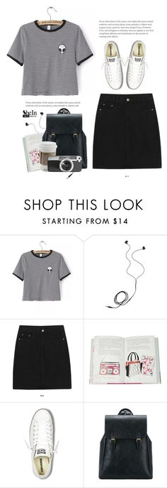 """""""..."""" by yexyka ❤ liked on Polyvore featuring WithChic, Diane Von Furstenberg, Converse and Casetify"""