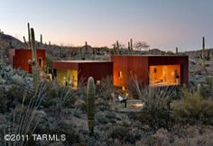 Desert Nomad House, Tuscon, AZ