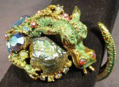 Vintage HAR Dragon Jewelry