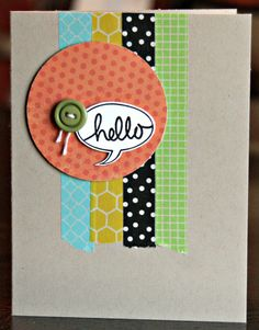 @Kelly Teske Goldsworthy Teske Goldsworthy Bryant: idea for  your washi tape!