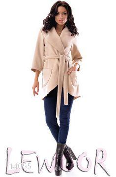 Модное пальтишко из кашемира без подкладки - купить оптом и в розницу, интернет-магазин женской одежды lewoor.com