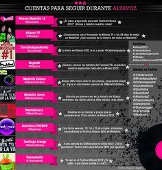 El festival de música más importante de Medellín también se vive a través de las redes sociales. Aquí una guía para seguir los pormenores a través de Twitter.