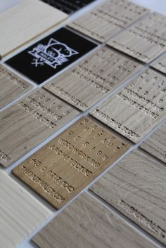 wooden business card - thibautmalet