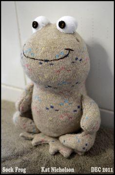 Sock Frog by Kat-Nicholson