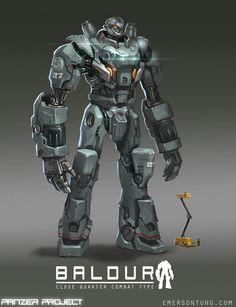 concept robots: Concept robots by Emerson Tung