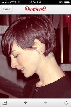 Perfect pixie - just want to make sure the sides are long enough to tuck behind my ears...