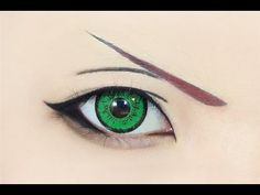 Tutorial : Anime Eye Makeup 120 • Lea / Axel