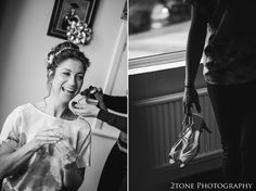 Bridal preparations.  Wedding photography in Somerset by husband and wife team 2tone Photography ww.2tonephotography.co.uk