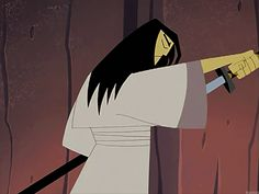 2001-2004—Samurai Jack ( Samurai Jack ) | Man Buns: A Chronological Hairstory.. Men with slight longer hair will understand