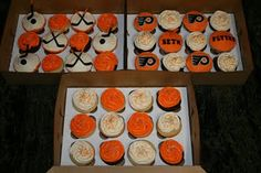Nolan wants a Flyers themed party this year. These are inspiring! :)