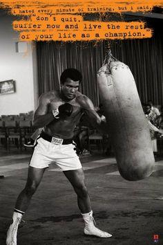 Muhammad Ali - Punchbag - Official Poster
