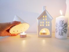 Maratón DIY: Pasta blanca para modelar   La Garbatella: blog de decoración, estilo nórdico.