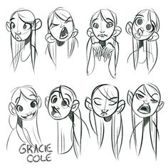 #sketch #sketchbook #art #illustration #characterdesign #expressions #digitalart