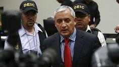 perez molina El expresidente de Guatemala Otto Pérez Molina es enviado a prisión