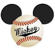 Baseball / Softball Sport Mickey head