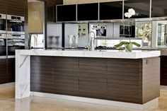 Contemporary Kitchen Design Design, Pictures, Remodel, Decor and Ideas - page 15    TOO BUSY FOR ME.