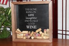 Hey, I found this really awesome Etsy listing at https://www.etsy.com/listing/204595496/walnut-wine-cork-shadow-box-home