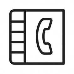 Phonebook Web Icon Vector Illustration - Stock Vector , #Aff, #Icon, #Web, #Phonebook, #Stock #AD Web Icon Vector, Free Vector Art, Vector Graphics, Free Vector Images, Handwritten Script Font, Illustration, Illustrations