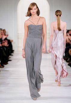 Glamour avec une touche d'élégance nonchalante pour la Ralph Lauren Collection Automne 2014