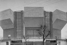 Rusakov Worker's Club (Melnikov, Konstantin. 1928)