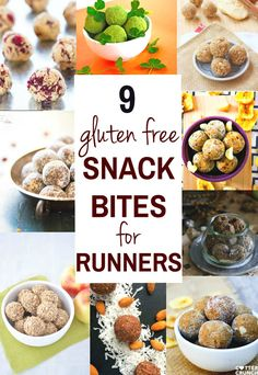 Nine gluten free energy snack bites that are great for runners! Natural energy to fuel you for a run or even sustain you after! Runners and all active folk out there need to be properly fueled in order to maintain endurance and perform well. It can be tough to get all the right nutrients and calories you need. Try these 9 gluten free energy snack bites for runners or endurance sport athletes. Full of healthy gluten free carbs and natural sugars. And TASTY! www.cottercrunch.com @cottercrunch