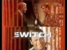 """The CBS-TV adventure/crime series """"Switch,"""" starring Eddie Albert and Robert Wagner, started out with a much more lighthearted introduction, which . Tv Themes, Youtube, Youtubers, Youtube Movies"""