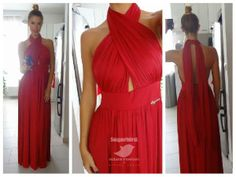 Great red dress Feminine Dress, Formal Dresses, Womens Fashion, Cute, Red, Clothes, Dresses For Formal, Outfits, Clothing