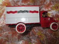 Ertl Caterpillar 1926 Mack Delivery Truck Diecast by kookykitsch, $18.00