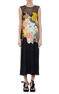 We Adore: The Dorsey Floral-Print Crepe Midi-Dress from Dries Van Noten at Barneys New York