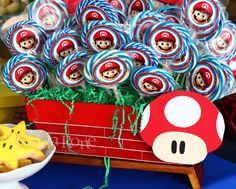 FR Creaciones: Super Mario Bros. - Cumpleaños 8 de José Armando