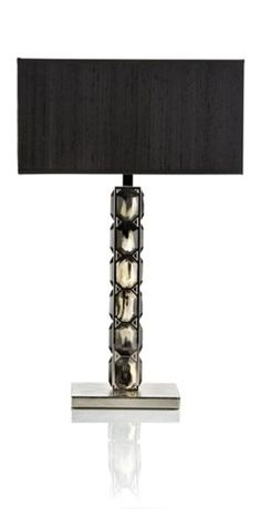 Luxury Gifts, Italian Designer Diamond Horn Table Lamp, one of over 3,000 limited production designer inspirations inc, bedroom, living room, dining room furniture, lighting, table lamps, mirrors, tabletop accents and gift ideas to enjoy repin and share at InStyle Decor Beverly Hills Hollywood Luxury Home Decor enjoy & happy pinning
