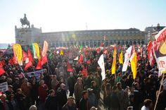 2/11/2012 Portugal  (300.000pers, Lisboa)