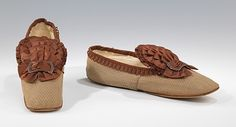 Circa 1870 shoes via The Metropolitan Museum of Art - Victorian Flats!
