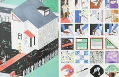 Illustration: Amélie Carpentier's illustrated book about love troubles