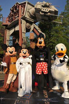 Star Wars Weekends - Star Wars Weekends Disney World - Eventos Anuales en Disney World Punk Disney, Disney Magic, Disney Pixar, Humor Disney, Disney Amor, Disney World Characters, Arte Disney, Disney Star Wars, Disney Dream